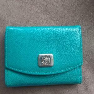 Vintage Liz Claiborne teal wallet